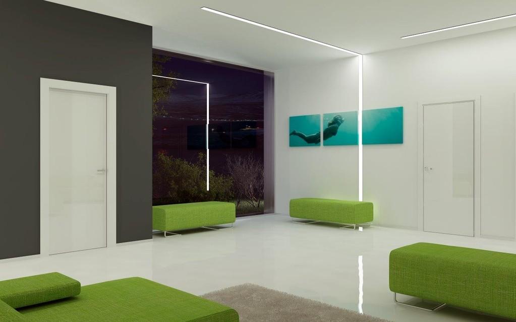 Soffitto Cartongesso Con Led: Controsoffitti pareti design cartongesso modena...